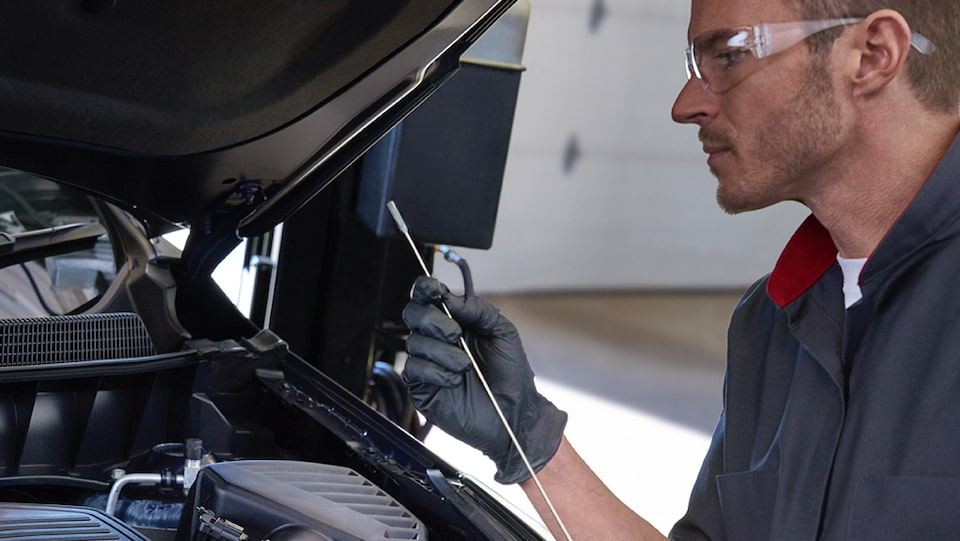 When you purchase a new vehicle, your first oil change could be covered.